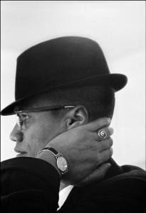 Malcolm X, Chicago, 1961 Copyright Eve Arnold/ Magnum Photos