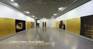 L'opera al nero. Omar Galliani