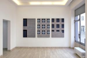 Enzo Gagliardino, un'immagine della mostra negli spazi di Franz Paludetto a Torino, courtesy Davide Paludetto