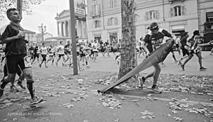 Mauro Franco, Le Marathon de Jean-Paul Charles, 2013, courtesy Sb Art