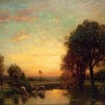 bussolino-vittorio-abbeverata-al-tramonto-229