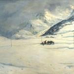 musso-carlo-paesaggio-alpino-innevato-con-figure-222
