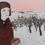 tabusso-francesco-ragazza-con-nido-nella-neve-2000-209