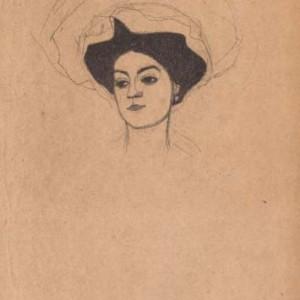 Egon Schiele, Melanie Schiele, 1908, courtesy Studio Fornaresio