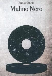 Ennio Onnis, La Ruota della Costellazione del Mulino Nero, olio su cartoncino, 2014