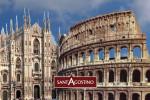 Sant'Agostino a Milano e Roma