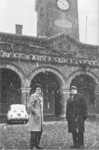 Ezio Gribaudo e Giorgio de Chirico, courtesy Paola Gribaudo