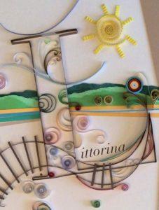 Iolanda Beccaris, La Littorina di Nosserio, La Lepre Edizioni, cover by Cristiana Gandini