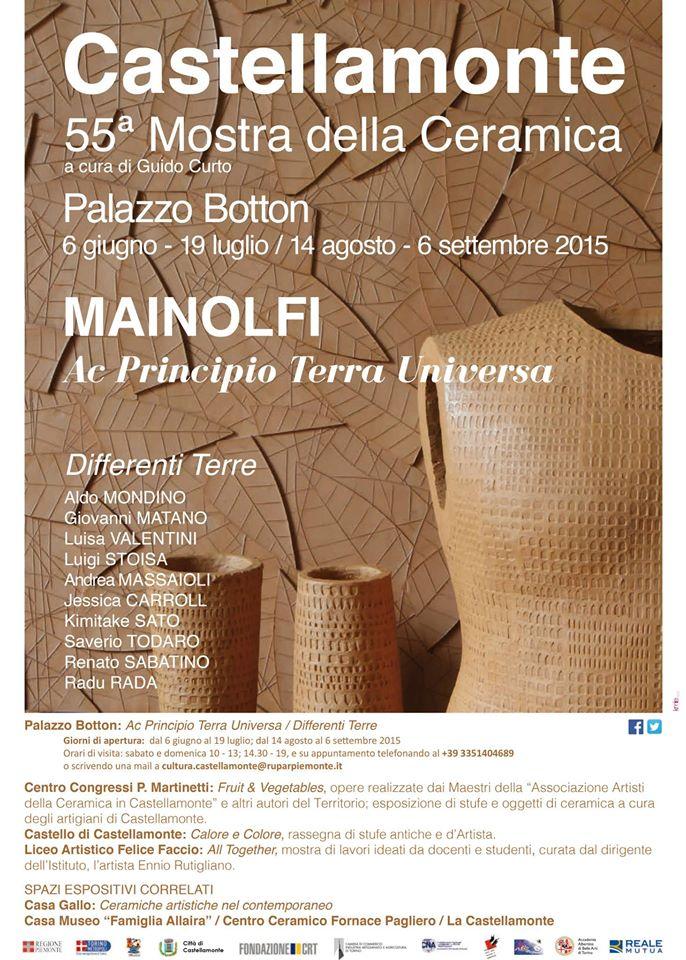 Mostra Della Ceramica Di Castellamonte.Sandra Baruzzi E Guglielmo Marthyn A Castellamonte Canale Arte