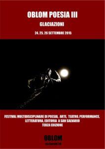 Oblom Poesia, Terza Edizione, ph. De Profundis di Fabrizio Bonci