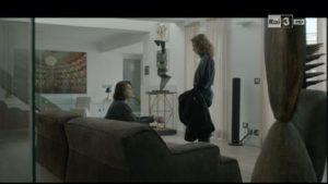"""Un'immagine sul set della fiction """"Non Uccidere"""" con alcune opere di Leopoldo Ceccarelli. Il IV episodio è stato girato a Torino in palazzo Valperga."""