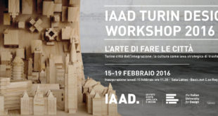 IAAD Turin Design Workshop