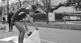 Jean Paul Charles, Le Marathon, photo by Mauro Franco