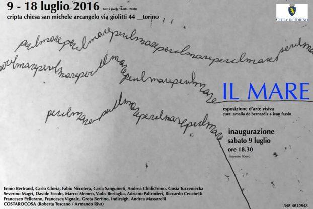 Il Mare, a cura di Amalia de Bernardis + Ivan Fassio