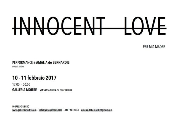 Amalia de Bernardis, INNOCENT LOVE
