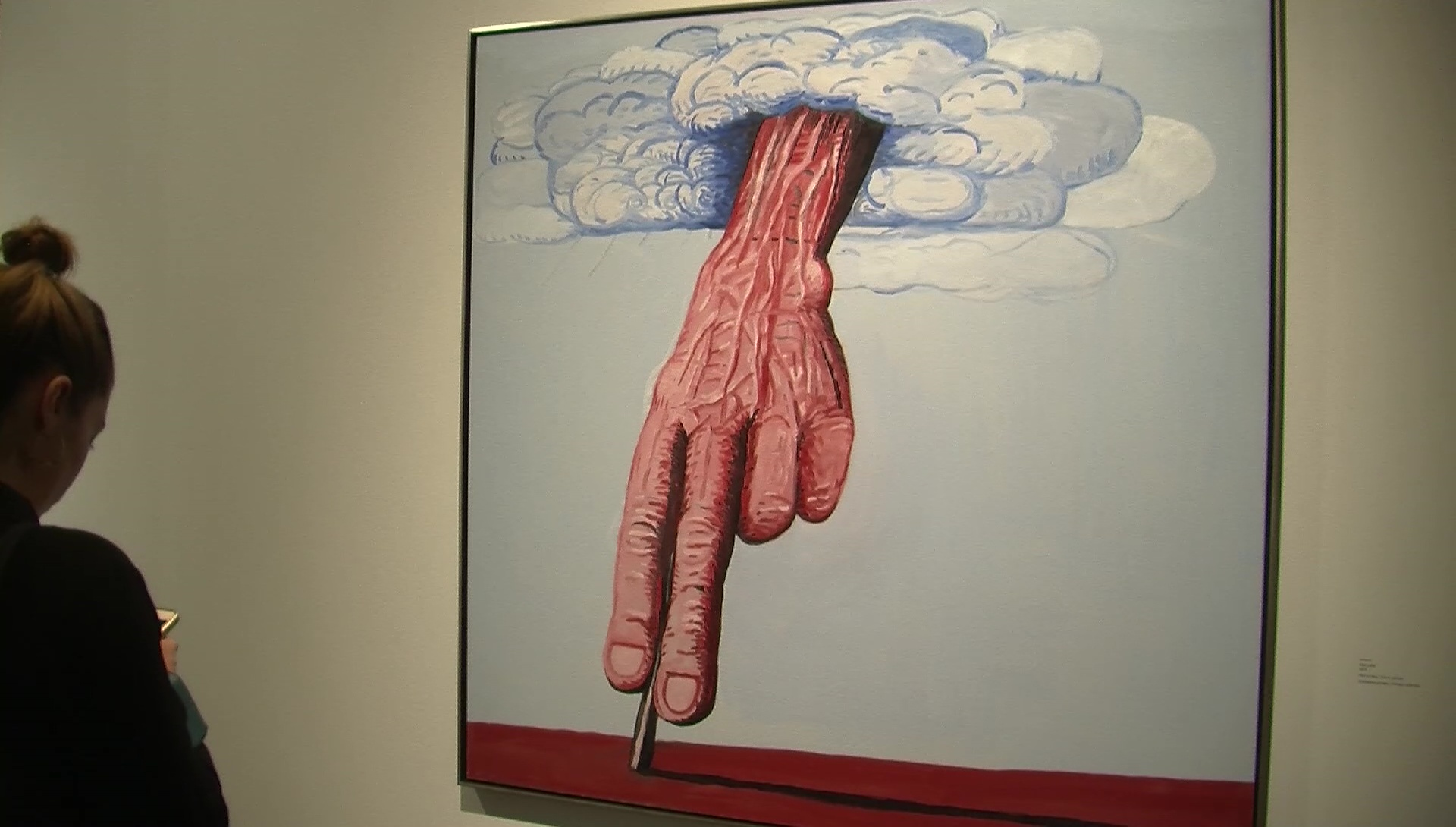 Philip Guston alle Gallerie dell'Accademia di Venezia