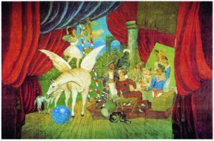"""Pablo Picasso Sipario per il balletto """"Parade"""", 1917"""