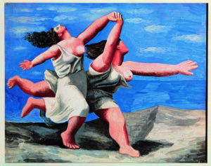 Pablo Picasso Deux femmes courant sur la plage (La course) [Due donne che corrono sulla la spiaggia (La corsa)], 1922