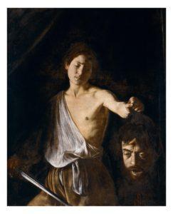 David con la testa di Golia, Caravaggio, copyright Ministero dei Beni e delle Attività Culturali e del Turismo - Galleria Borghese