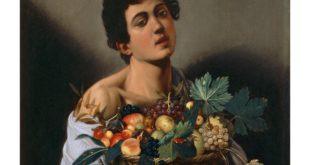 Giovane con canestro di frutta, Caravaggio, copyright Ministero dei Beni e delle Attività Culturali e del Turismo - Galleria Borghese