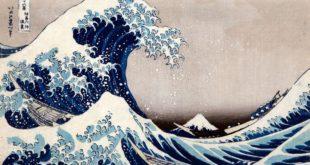 La Grande onda di Hokusai avvolge l'Ara Pacis