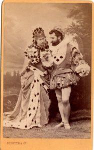 Ballo 1878 Alfredo d'Andrade