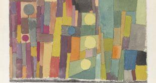 PAUL KLEE, IM STIL VON KAIROUAN, INS GEMÄSSIGTE ÜBERTRAGEN, 1914, 211