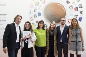 Cally Spoonerè la vincitrice dell'edizione 2017 del Premio illy Present Future