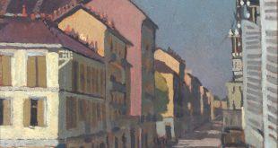 Felice Casorati. Via Galliari a Torino