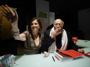 Victoria Surliuga e Ezio Gribaudo in uno scatto di Emanuele Pensavalle