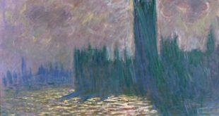 Claude Monet (1840-1926), Londres. Le Parlement. Reflets sur la Tamise, 1905. Huile sur toile, 81x92 cm