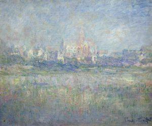 Claude Monet (1840-1926), Vétheuil dans le brouillard, 1879. Huile sur toile, 60x71 cm