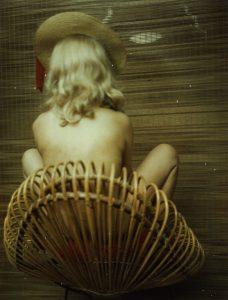Carlo Mollino - Ritratto (senza titolo), Polaroid, 1962-1973.