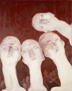 GEORG BASELITZ, OBERON (1ST ORTHODOX SALON 64—E. NEIZVESTNY), 1964