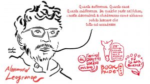 Gianluca Costantini per il Festival dei diritti umani