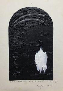 """Emilio Isgrò, """"L'artista e l'errore"""" (1993)"""