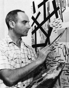 Domenico Rotella al lavoro (1951)
