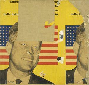 """Mimmo Rotella, """"Viva America"""" (1963)"""