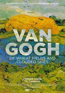 """Locandina di """"Van Gogh - Tra il grano e il cielo"""""""
