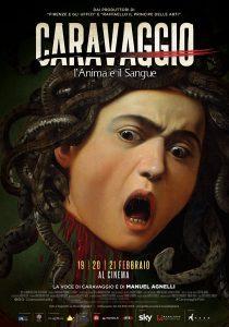 """Locandina di """"Caravaggio - L'anima e il sangue"""""""