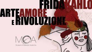 """La locandina di """"Women III - Frida Kahlo. Arte, amore e rivoluzione"""" realizzata da Annalisa Mandarino"""