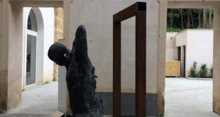 Una delle opere dei fratelli Alviti esposte alla BIAS