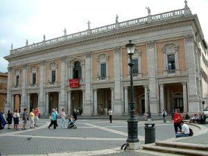 Palazzo dei Conservatori (Piazza del Campidoglio), entrata principale ai Musei Capitolini