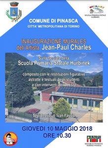 Jean-Paul Charles, Comune di Pinasca