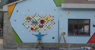 Jean-Paul Charles. Un Murales per la Scuola Primaria