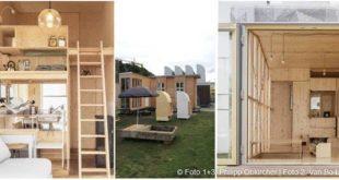Bauhaus-Campus: 35 Kubik Heimat, Bauhaus-Campus, 100-Euro-Wohnung