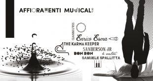 Affioramenti Musicali. Elaborazione Grafica di Mina Calissano