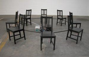 Sedie, Installazione Interattiva Partecipata, Gruppo MRBB
