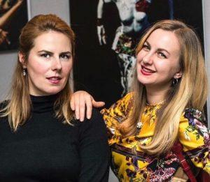 Anastasia Lavrikova e Eva Amos