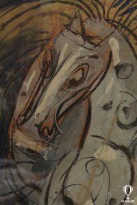 Luigi Spazzapan, Cavallo in Movimento